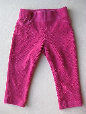 Lupilu Baby Jeggings Leggings Hose Rosa Cord Stretch Gr. 62/68 Pink wie NEU