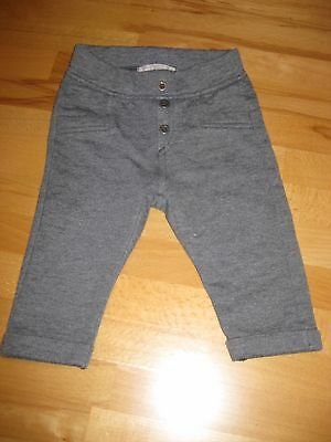 Name it Baby Jeggings Leggings Hose Grau Gr. 68 Stoffhose