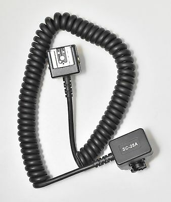 Nikon Ttl Sync Cord Sc-28A For Off Camera Flash