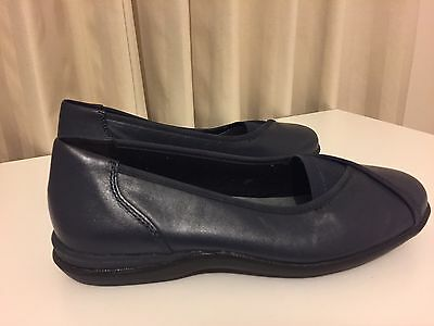 Homy Ped Womens Shoes Navy Size 6.5