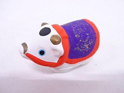 82546# Japanese Tea Ceremony / Kogo (Incense Container) /the Ox