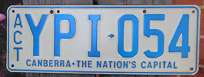 License Plate Number Plate ACT Steel Very nice!!  YPI 054