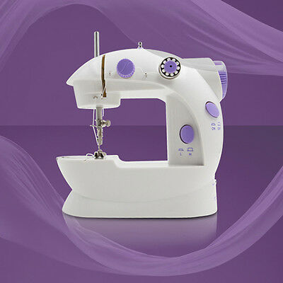 Mini Handheld Sewing Machines Set Dual Speed Double Thread Electric Automatic