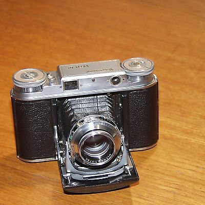 Voigtlander VITO III 35mm film RANGEFINDER camera 50mm f2 ULTRON case GERMANY