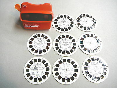 View-Master 3D with 8 Reels