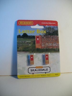 """Hornby Skaledale R8763  Wall  Letter  Boxes Red """"00"""" Scale"""