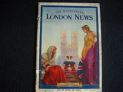 Newspaper The Illustrated London News Coronation Ceremony Number 1937