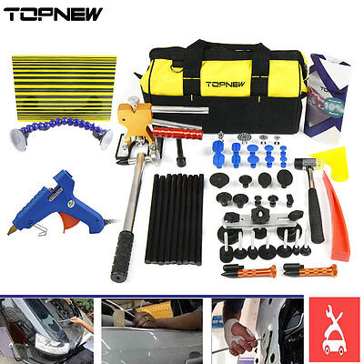PDR Tool-Dent Puller Lifter Paintless Repair  Hammer-Removal Line Board Kit