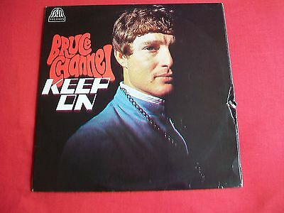 Bruce Channel - Keep On Uk 1St Press Lp - 1968 Bell Records