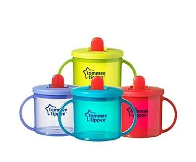 Tommee Tippee 190ml  Freeflow First cup  4m+  various colours   bpa free