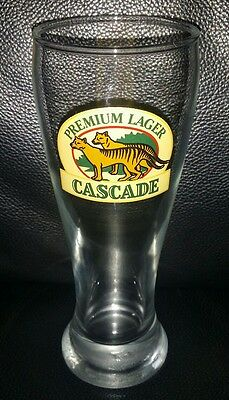 Rare Collectable Cascade Premium Lager 285Ml Beer Glass Brand New
