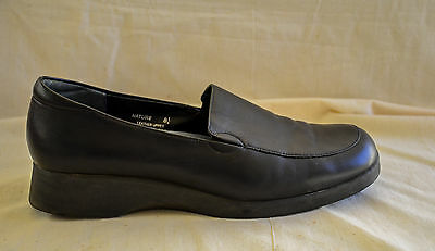diana ferrari SUPERSOFT SHOES size 8 1/2  BLACK LEATHER good condition