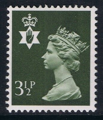 GB QEII Northern Ireland SG NI16 3 1/2p Olive-Grey CB. Regional Machin MNH STAMP