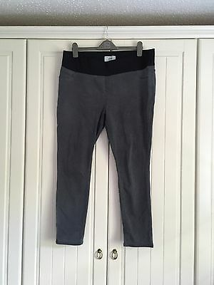 Ladies Maternity Grey Jeggings New Look Size 16
