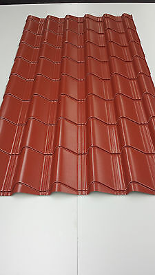 TileEffect,Plastic Coated,0.7mm,roof cladding, roofing panels, tin sheets,