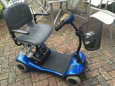 Shoprider 4 Wheel Mobility Scooter with changeable colour panels