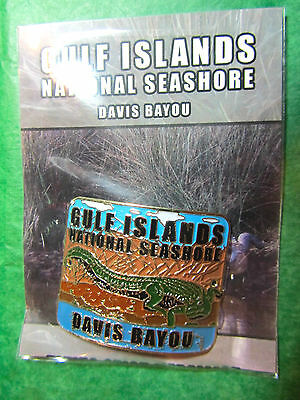 Gulf Islands National Seashore Davis Bayou Hiking Medallion Alabama Souvenir