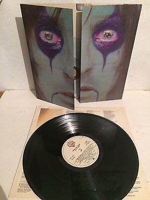 Alice Cooper - From The Inside LP Vinyl 1st Ita W56577 Gimmick Cover EX/EX+