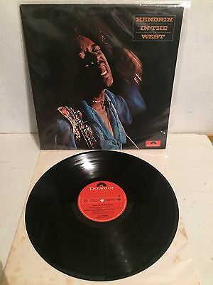 Jimi Hendrix - In The West LP Vinyl 2310161 L 1st Ita Press EX-/EX