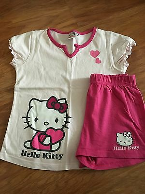 Pyjama short Hello Kitty 8ans - occasion