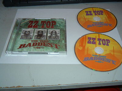 ZZ TOP - THE VERY BADDEST OF 2 x CD ALBUM