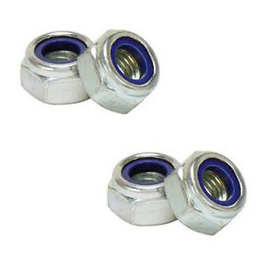 A2 Self-locking Nuts Stainless Steel M3 M4 M5 M6 M8 M10 DIN982 Nylon Nylok Nuts