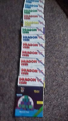 DRAGON USER all 1985 12 issues, very good condition