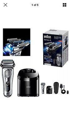 Braun Series 9-9095CC Wet & Dry Electric Foil Shaver Clean and Renew Charger