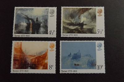 GB MNH STAMP SET 1975 J.M.W. Turner Paintings SG 971-974 UMM
