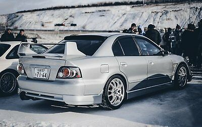 "Pads the rear bumper ""SUPER VR-4"" Mitsubishi Galant VIII JDM"