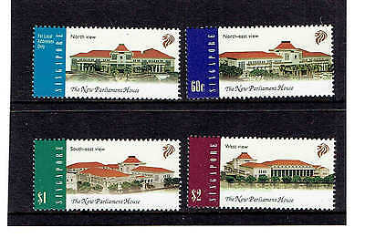 Singapore 1999 Set of 4, New Parliament House. SG1010-1013. UnMounted Mint.