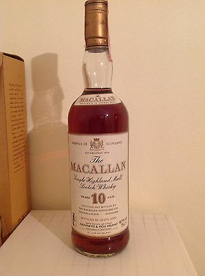 Whisky MACALLAN 10yo  75cl