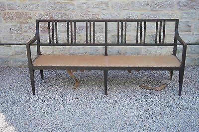 Early 1900s to 1940s Bench - Long Seat Waiting Room Dining Room