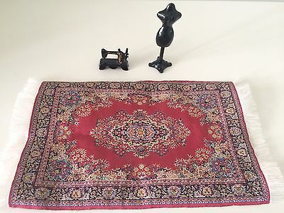 Dolls House Rug / Sewing Machine / Mannequin. Combined Postage Available