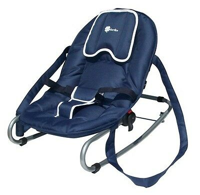 UNITED-KIDS Wippe, Babywippe, Liegewippe Modell A603, Blau