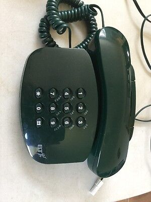 Retro BT Phone Telephone Landline - Duet 200 Plus Green