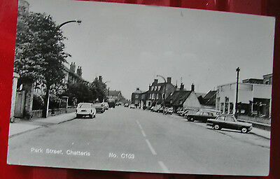 PARK STREET CHATTERIS CAMBS TOPO PHOTO POSTCARD pu EXCELLENT