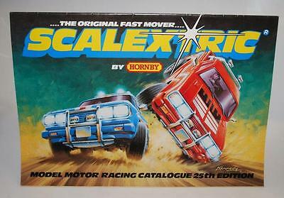 SCALEXTRIC CATALOGUE - 1983   25th EDITION   C522