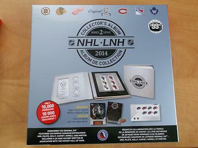 Canada Nhl 2014 Luxury Original Six Collector's Album Limited Edition A1440