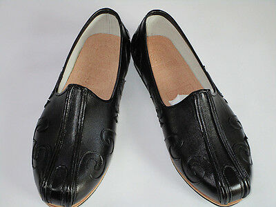 100% Handmade Genuine Leather Taichi Kung Fu Martial arts Shaolin Slipper Shoes