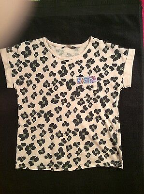 George Girls Short Sleeved Top Age6/7 Yrs