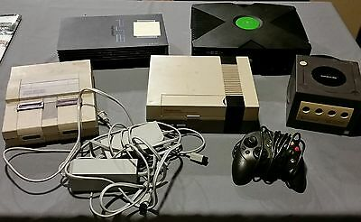 Video Game Lot (Nintendo, Gamecube, Xbox, PS2, Genesis, Wii)-For parts or repair