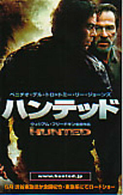 THE HUNTED-2003-s-size multi pages Japanese Movie Chirashi flyer(mini poster)