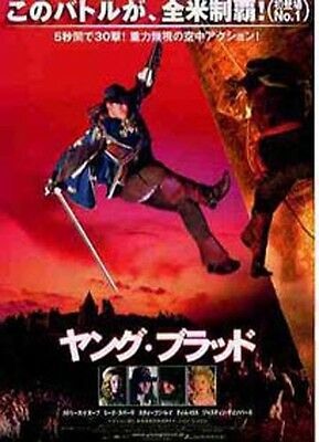 THE MUSKETEER Japanese Movie Chirashi flyer(mini poster)