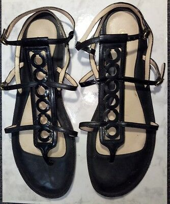 "COACH Women's ""Geralynn"" Gladiator Sandals Pre Owned - Size 9B - STUNNING!!"