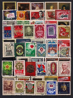Russia-Super Selection Of Fine Used Stamps.all Different.very Nice Clean Lot.