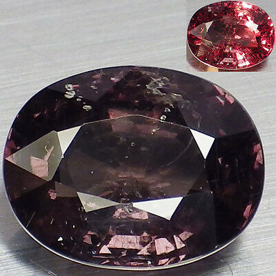 3.71 Ct. RARE Unheated Natural Oval Color Change Malaya Garnet  Loose Gemstone