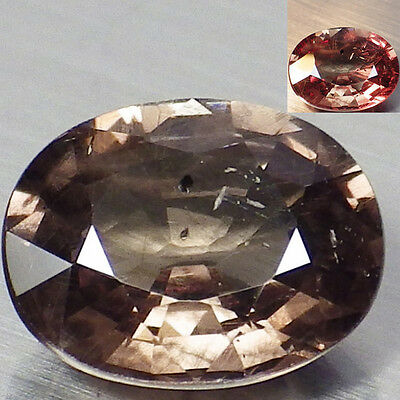 1.84 Ct. RARE Unheated Natural Oval Color Change Malaya Garnet  Loose Gemstone