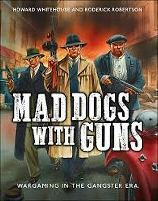 Mad Dogs With Guns W/ Gangsters - Osprey Wargames - Gangster -