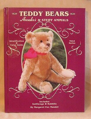 Book - Teddy bears, Annalee's and Steiff Animals 3rd Series by Margaret F Mandel